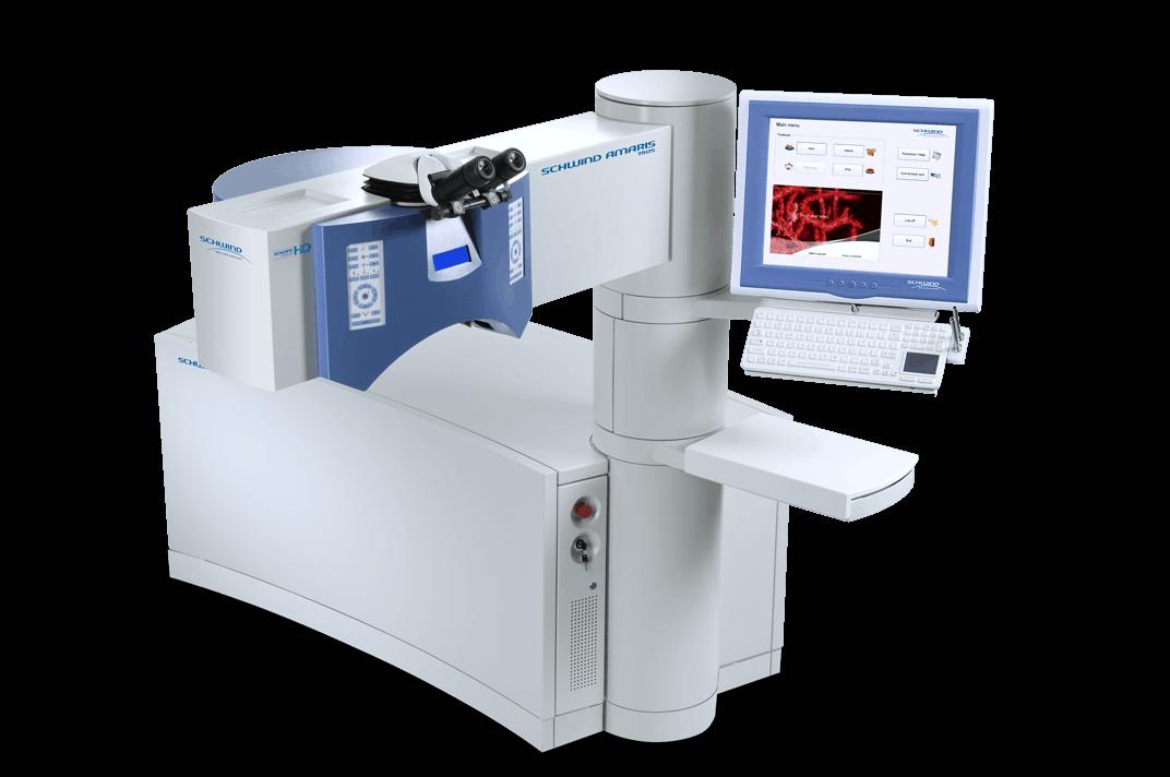 Schwind Amaris laser machine